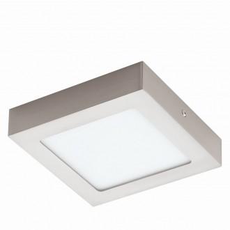 EGLO 94524 | Fueva-1 Eglo fali, mennyezeti LED panel négyzet 1x LED 1200lm 3000K matt nikkel, fehér