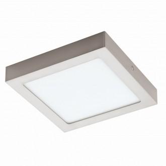 EGLO 94526 | Fueva-1 Eglo fali, mennyezeti LED panel négyzet 1x LED 1700lm 3000K matt nikkel, fehér