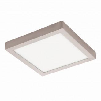EGLO 94528 | Fueva-1 Eglo fali, mennyezeti LED panel négyzet 1x LED 2600lm 3000K matt nikkel, fehér