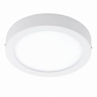 EGLO 94536 | Fueva_1 Eglo mennyezeti LED panel kerek 1x LED 2600lm 4000K fehér