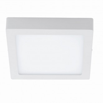 EGLO 94537 | Fueva-1 Eglo fali, mennyezeti LED panel négyzet 1x LED 2600lm 3000K fehér