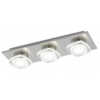 EGLO 94571 | Marchesi Eglo fali, mennyezeti lámpa 3x LED 1440lm 3000K króm, fehér, átlátszó