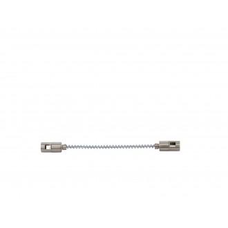 EGLO 94609 | Vilanova Eglo rendszerelem - sínösszekötő alkatrész flexibilis matt nikkel