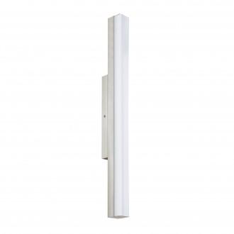 EGLO 94617 | Torretta Eglo fali lámpa 1x LED 1500lm 4000K IP44 matt nikkel, fehér