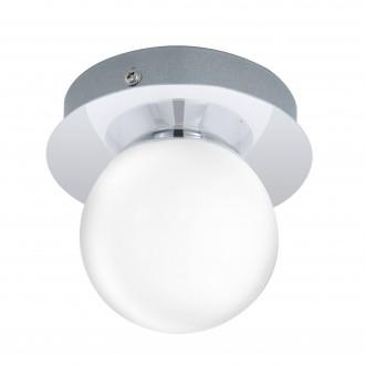 EGLO 94626 | Mosiano Eglo fali, mennyezeti lámpa 1x LED 340lm 3000K IP44 króm, fehér