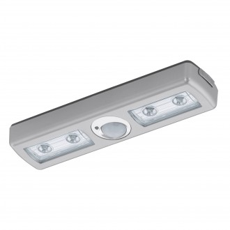 EGLO 94686 | Baliola Eglo bútormegvilágító lámpa mozgásérzékelő 4x LED 780lm 3000K matt nikkel