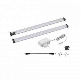 EGLO 94691 | Vendres Eglo pultmegvilágító lámpa mozgásérzékelő 1x LED 320lm 4000K szatén