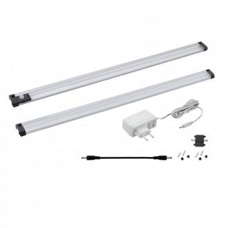 EGLO 94692 | Vendres Eglo pultmegvilágító lámpa mozgásérzékelő 1x LED 550lm 4000K szatén