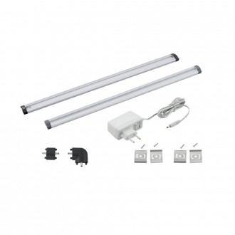 EGLO 94693 | Vendres Eglo pultmegvilágító lámpa érintőkapcsoló 1x LED 320lm 4000K szatén