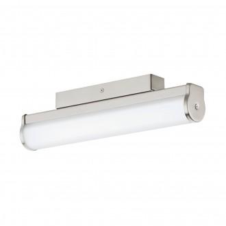 EGLO 94715 | Calnova Eglo falikar lámpa 1x LED 770lm 4000K IP44 matt nikkel, fehér