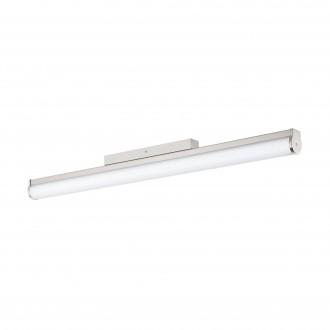 EGLO 94717 | Calnova Eglo falikar lámpa 1x LED 2200lm 4000K IP44 matt nikkel, fehér