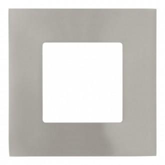 EGLO 94735 | Fueva-1 Eglo beépíthető LED panel négyzet 3 darabos szett 85x85mm 3x LED 900lm 3000K matt nikkel, fehér