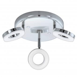 EGLO 94762   Gonaro Eglo spot lámpa elforgatható alkatrészek 3x LED 1080lm 3000K IP44 króm, fehér