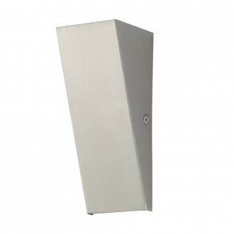 EGLO 94793 | Zamorana Eglo fali lámpa 1x LED 180lm 3000K IP44 nemesacél, rozsdamentes acél