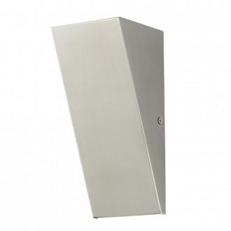 EGLO 94794 | Zamorana Eglo fali lámpa 1x LED 320lm 3000K IP44 nemesacél, rozsdamentes acél