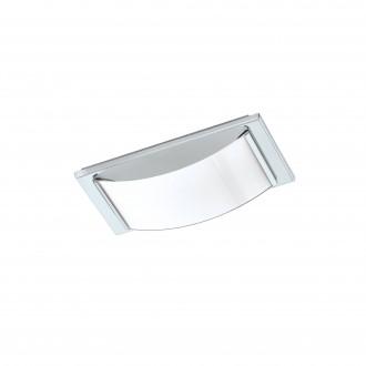 EGLO 94881 | Wasao-1 Eglo fali, mennyezeti lámpa 1x LED 510lm 3000K IP44 króm, fehér