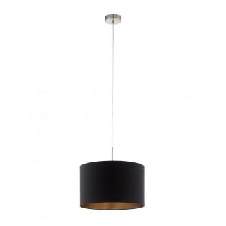 EGLO 94913 | Eglo-Pasteri-BC Eglo függeszték lámpa 1x E27 matt fekete, sárgaréz, matt nikkel