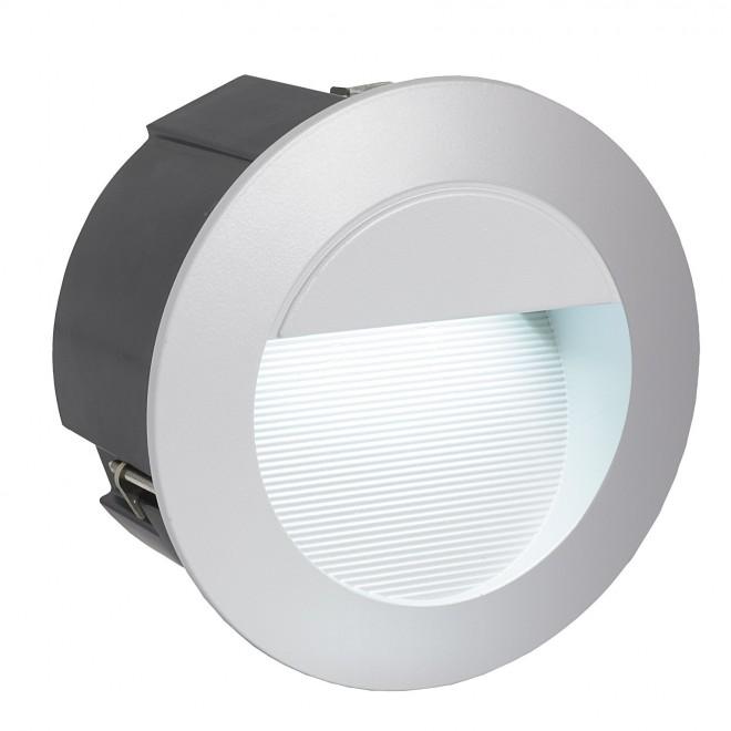 EGLO 95233 | ZimbaLed Eglo beépíthető lámpa Ø125mm 1x LED 320lm 4000K IP65 ezüst