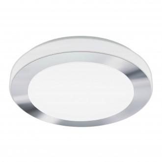 EGLO 95283 | Carpi-LED Eglo fali, mennyezeti lámpa 1x LED 1500lm 3000K IP44 króm, fehér