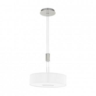 EGLO 95331 | Romao Eglo függeszték lámpa ellensúlyos, állítható magasság, szabályozható fényerő 1x LED 2450lm 3000K matt nikkel, króm, fehér