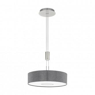 EGLO 95348 | Romao Eglo függeszték lámpa ellensúlyos, állítható magasság, szabályozható fényerő 1x LED 2450lm 3000K matt nikkel, króm, szürke