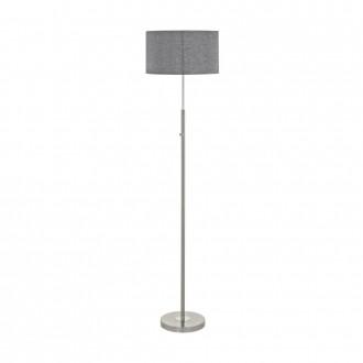 EGLO 95353 | Romao Eglo álló lámpa 161,5cm fényerőszabályzós érintőkapcsoló 1x LED 2210lm 3000K szatén nikkel, króm, szürke
