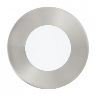 EGLO 95465 | Fueva-1 Eglo beépíthető LED panel kerek Ø85mm 1x LED 360lm 4000K matt nikkel