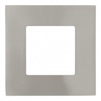 EGLO 95466 | Fueva-1 Eglo beépíthető LED panel négyzet 85x85mm 1x LED 360lm 4000K matt nikkel, fehér