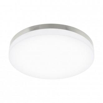 EGLO 95497 | EGLO-Smart_Sortino-S Eglo mennyezeti okos világítás szabályozható fényerő, állítható színhőmérséklet 1x LED 2650lm 2700 <-> 5000K matt nikkel, fehér