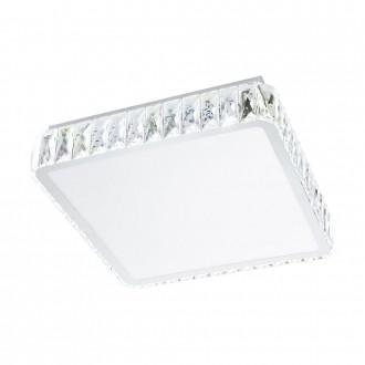 EGLO 95542 | EGLO-Smart_Tellugio-S Eglo mennyezeti okos világítás szabályozható fényerő, állítható színhőmérséklet 1x LED 2800lm 2700 <-> 5000K króm, átlátszó, fehér