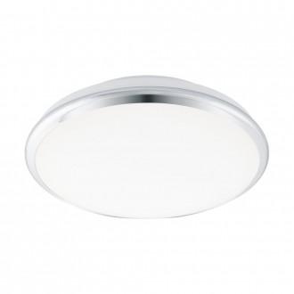 EGLO 95551 | EGLO-Smart_Manilva-S Eglo fali, mennyezeti okos világítás szabályozható fényerő, állítható színhőmérséklet 1x LED 1900lm 2700 <-> 5000K króm, fehér