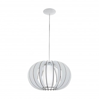 EGLO 95606   Stellato Eglo függeszték lámpa 1x E27 fehér