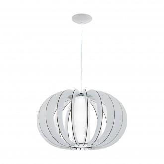 EGLO 95607   Stellato Eglo függeszték lámpa 1x E27 fehér