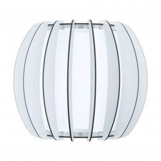 EGLO 95609   Stellato Eglo fali lámpa 1x E27 fehér
