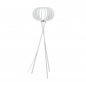 EGLO 95612 | Stellato Eglo álló lámpa 159cm taposókapcsoló 1x E27 fehér