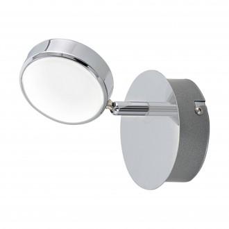 EGLO 95628 | Salto Eglo spot lámpa elforgatható alkatrészek 1x LED 640lm 3000K króm, szatén, fehér