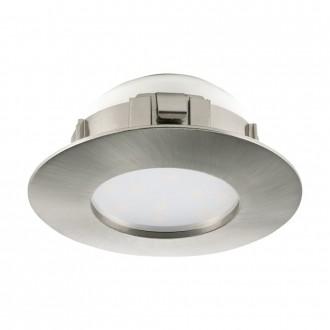 EGLO 95806 | Pineda Eglo beépíthető lámpa Ø78mm 1x LED 500lm 3000K matt nikkel