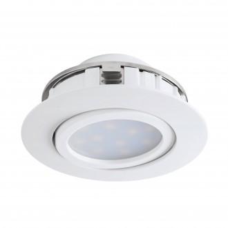 EGLO 95847 | Pineda Eglo beépíthető lámpa billenthető Ø84mm 1x LED 500lm 3000K fehér
