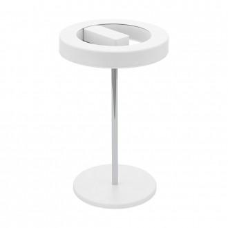 EGLO 95906 | EGLO-Smart_Alvendre-S Eglo asztali okos világítás 35cm vezeték kapcsoló szabályozható fényerő, állítható színhőmérséklet 1x LED 1400lm 2700 <-> 5000K fehér, króm