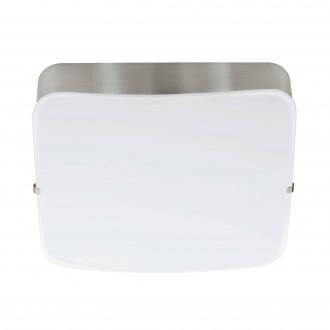 EGLO 95967 | Cupella-1 Eglo fali, mennyezeti lámpa négyzet 1x LED 950lm 3000K matt nikkel, fehér