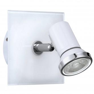 EGLO 95993 | Tamara1-LED Eglo spot lámpa 1x GU10 240lm 3000K IP44 fehér, króm