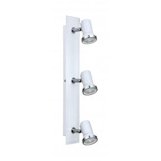 EGLO 95994 | Tamara1-LED Eglo spot lámpa 3x GU10 720lm 3000K IP44 fehér, króm