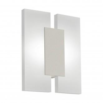 EGLO 96043 | Metrass-2 Eglo fali, mennyezeti lámpa 2x LED 960lm 3000K matt nikkel, fehér