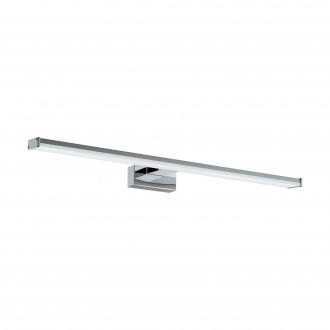 EGLO 96065 | Pandella-1 Eglo falikar lámpa 1x LED 1350lm 4000K IP44 króm, ezüst, fehér