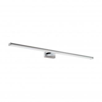 EGLO 96066 | Pandella-1 Eglo falikar lámpa 1x LED 1700lm 4000K IP44 króm, ezüst, fehér