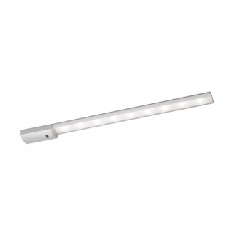 EGLO 96081 | Teya Eglo pultmegvilágító lámpa mozgásérzékelő 1x LED 850lm 4000K ezüst, fehér