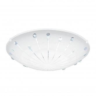 EGLO 96113   Margitta-1 Eglo fali, mennyezeti lámpa 1x LED 950lm 3000K fehér, áttetsző
