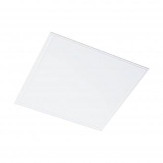 EGLO 96153 | Salobrena-1 Eglo álmennyezeti, mennyezeti, függeszték LED panel 1x LED 4300lm 4000K fehér