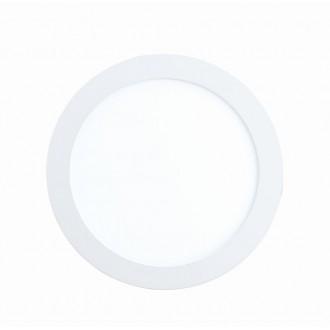 EGLO 96165 | Fueva-1 Eglo beépíthető LED panel kerek Ø170mm 1x LED 1200lm 3000K IP44 fehér