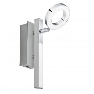 EGLO 96178 | Cardillio-1 Eglo spot lámpa elforgatható alkatrészek 1x LED 400lm + 1x LED 240lm 3000K króm, szatén, fehér